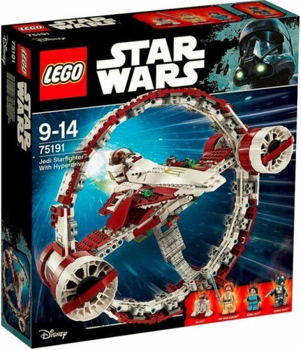 lego star wars jedi starfighter with hyperdrive 75191