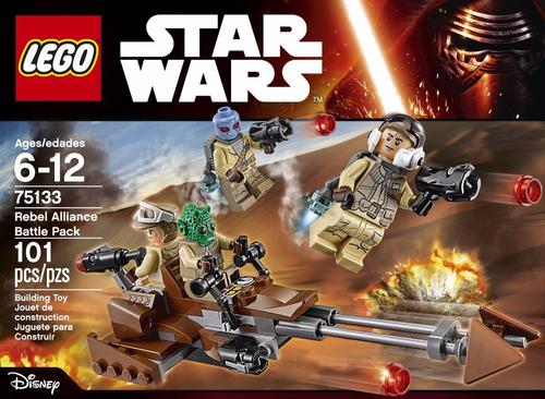 lego star wars: set de combate de la alianza rebelde