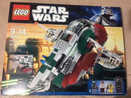 lego star wars slave i modelo 8097 del año 2010 boba fett