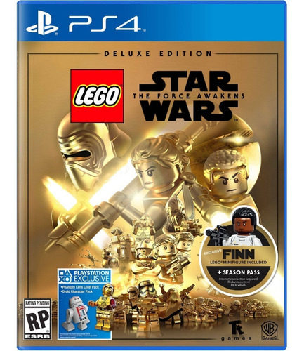 lego star wars the force awakens deluxe - playstation 4