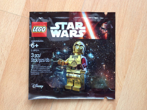 lego star wars the force awakens polybag c-3po red arm
