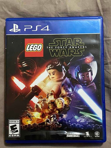 lego star wars the force awakens ps4 físico impecable oferta