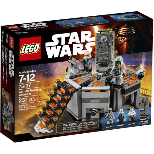 lego star wars/75137/ carbon-freezing chamber/nuevo/