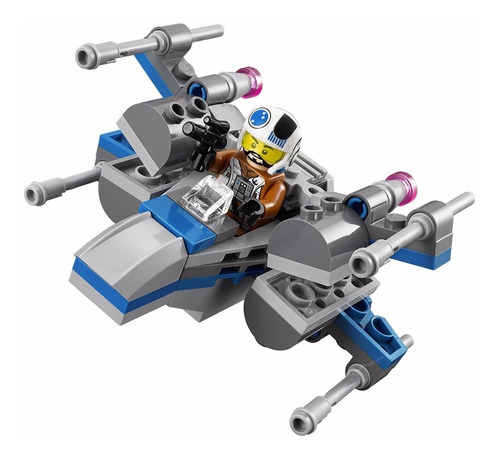 lego starwars: nave resistance x-wing fighter + juego gratis