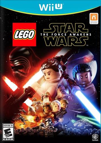lego starwars the force awakens para nintendo wii u nuevo