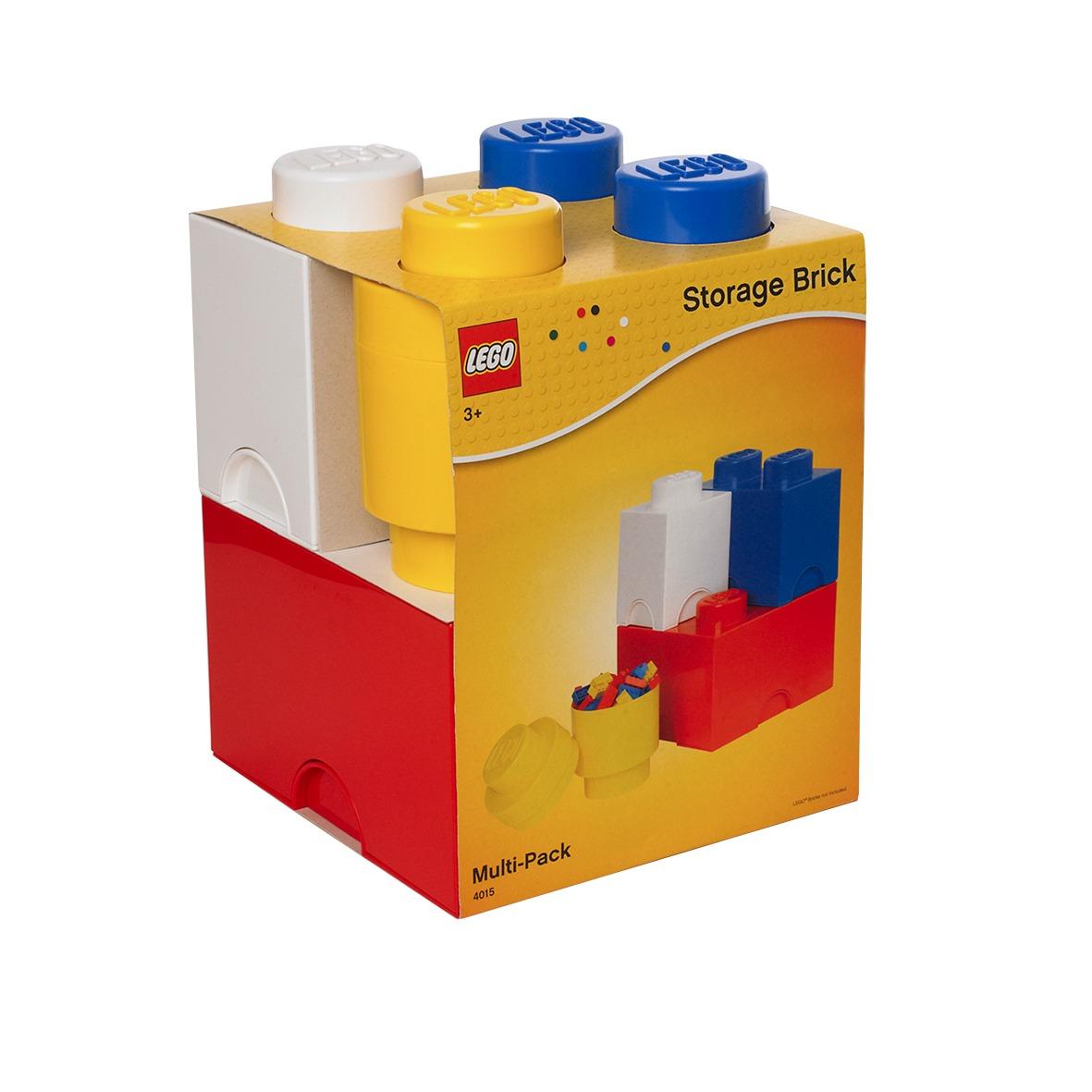Lego storage bricks 4 piezas canasto organizador 3 for Classic muebles uruguay