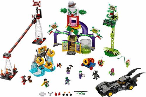 lego super heroes 76035: el parque de diversiones del guasón