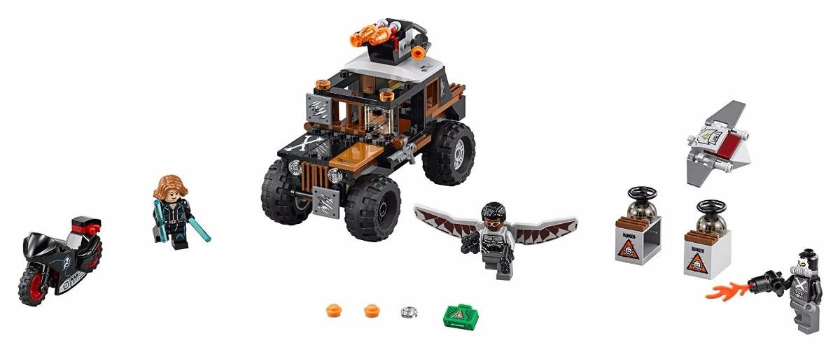 LEGO 76050 Super Heroes Crossbones/' Hazard Heist Brand New