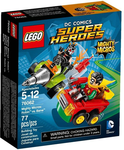lego super heroes 76062 robin vs bane