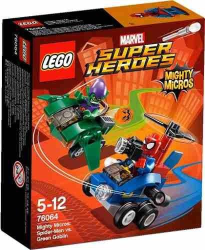 lego super heroes 76064 spider man vs hombre verde
