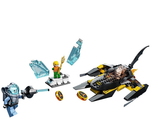lego super heroes ártico batman vs mr freeze 76000