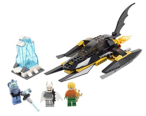 lego super heroes ártico batman vs mr freeze 76000
