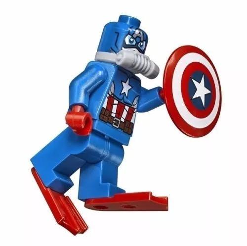 98aa81ca18675 Lego Super Heroes Ataque De Submarino Caveira De Ferro 76048 - R ...