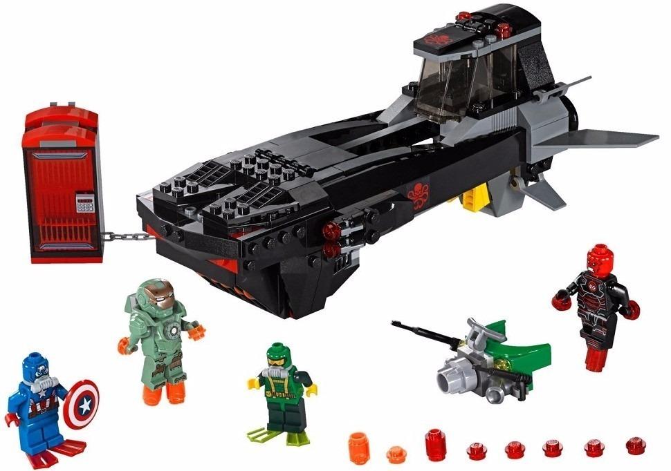 24106a3cdf21b lego super heroes ataque de submarino caveira de ferro 76048. Carregando  zoom.