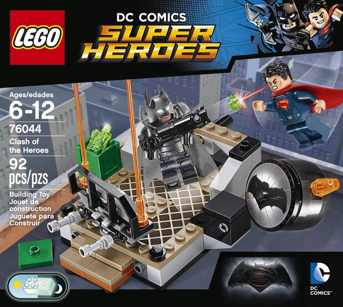 Lego Super Heroes Batman Vs Superman 76044 - $ 100.000.000 ...
