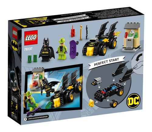 lego® super heroes - batman y el robo del acertijo (76137)