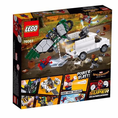 lego super heroes beware the vulture marvel spider-man 76083