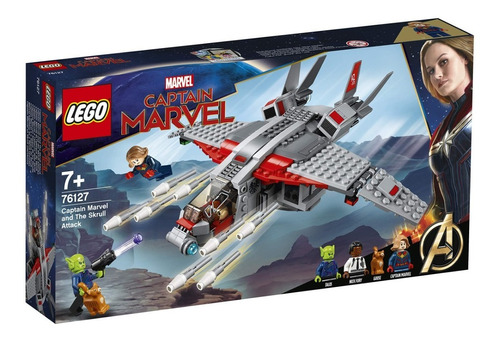 lego ® super heroes - captain marvel and the skrull attack