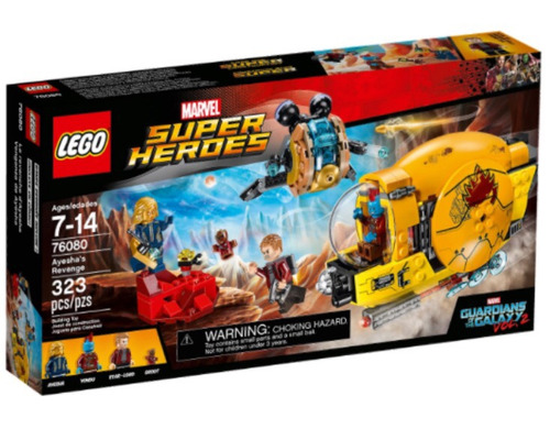 lego super heroes guardianes de la galaxia 76080 ayesha's re