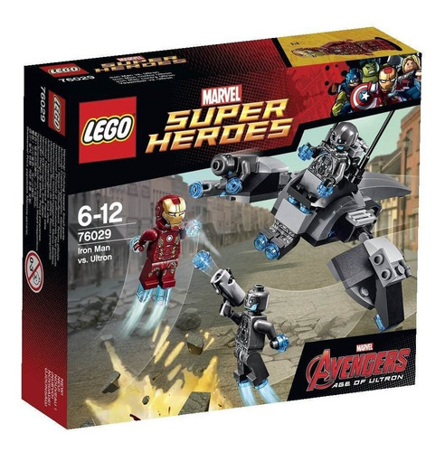 lego super heroes iron man vs ultron ref: 76029