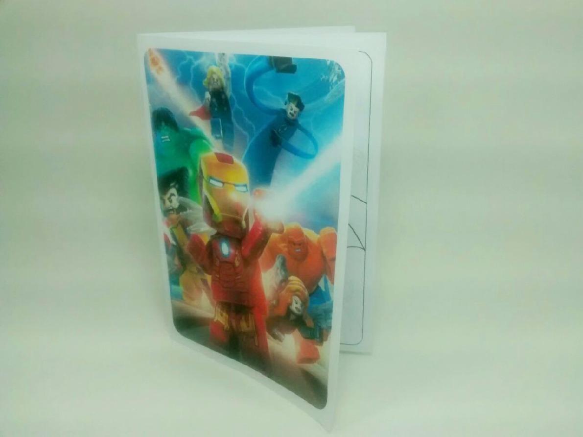 Lego Super Heroes - Libritos Para Pintar (pack X100) - $ 900,00 en ...