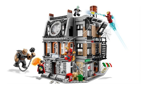 lego super heroes sanctom sanctorum showdown