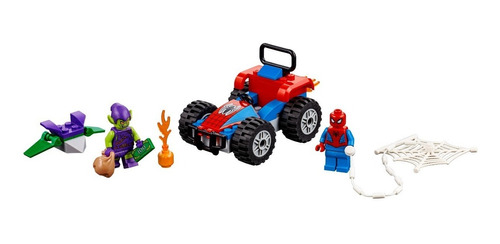 lego® super heroes - spider-man car chase (76133)