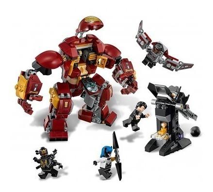 lego super heroes the hulkbuster smash-up