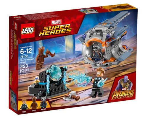 lego super heroes thor's weapon quest