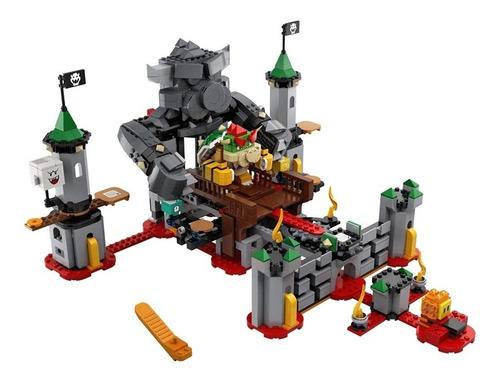lego super mario bowser's castle boss entrega inmediata !!