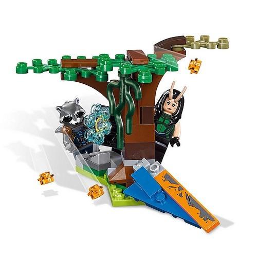 lego superheroes marvel 76079  ataque de ravager