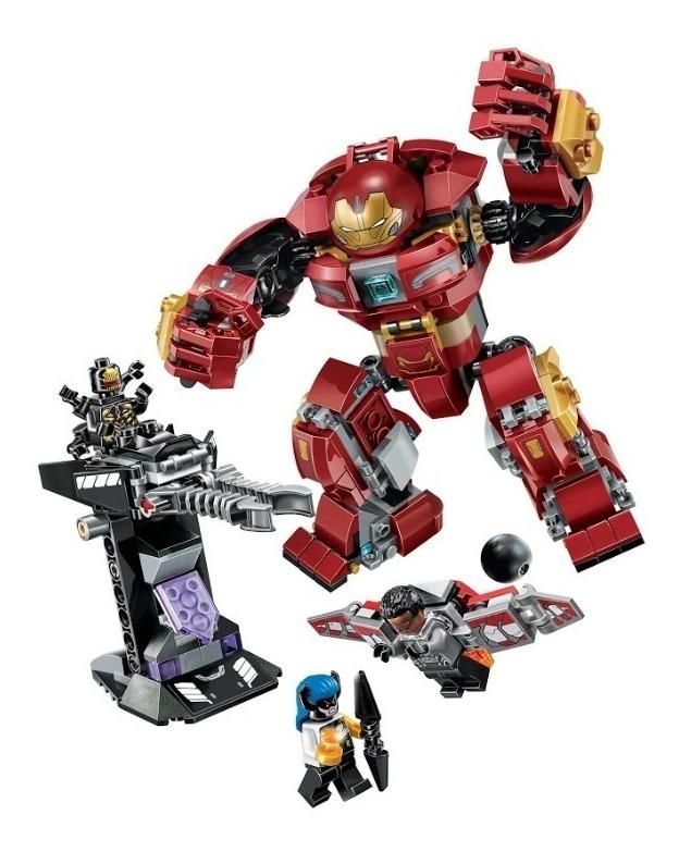 Lego Supreme Hero Iron Man Buster Alternativo - S/ 105,00 En