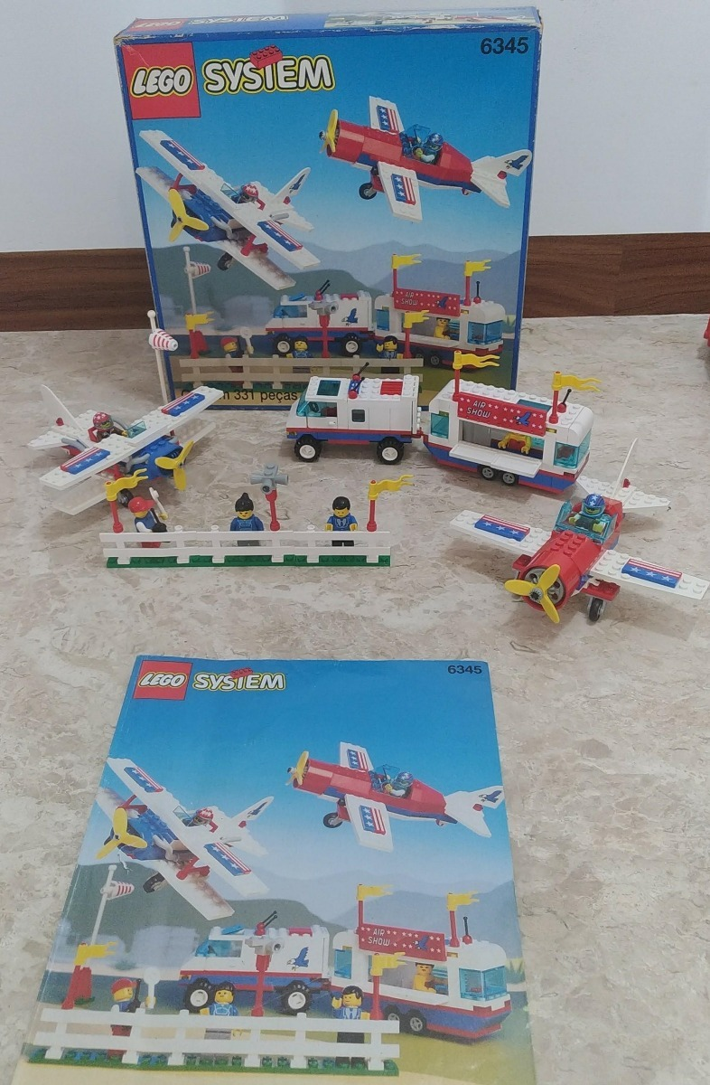 Lego System 6345 Aerial Acrobats 331pçs (1993)