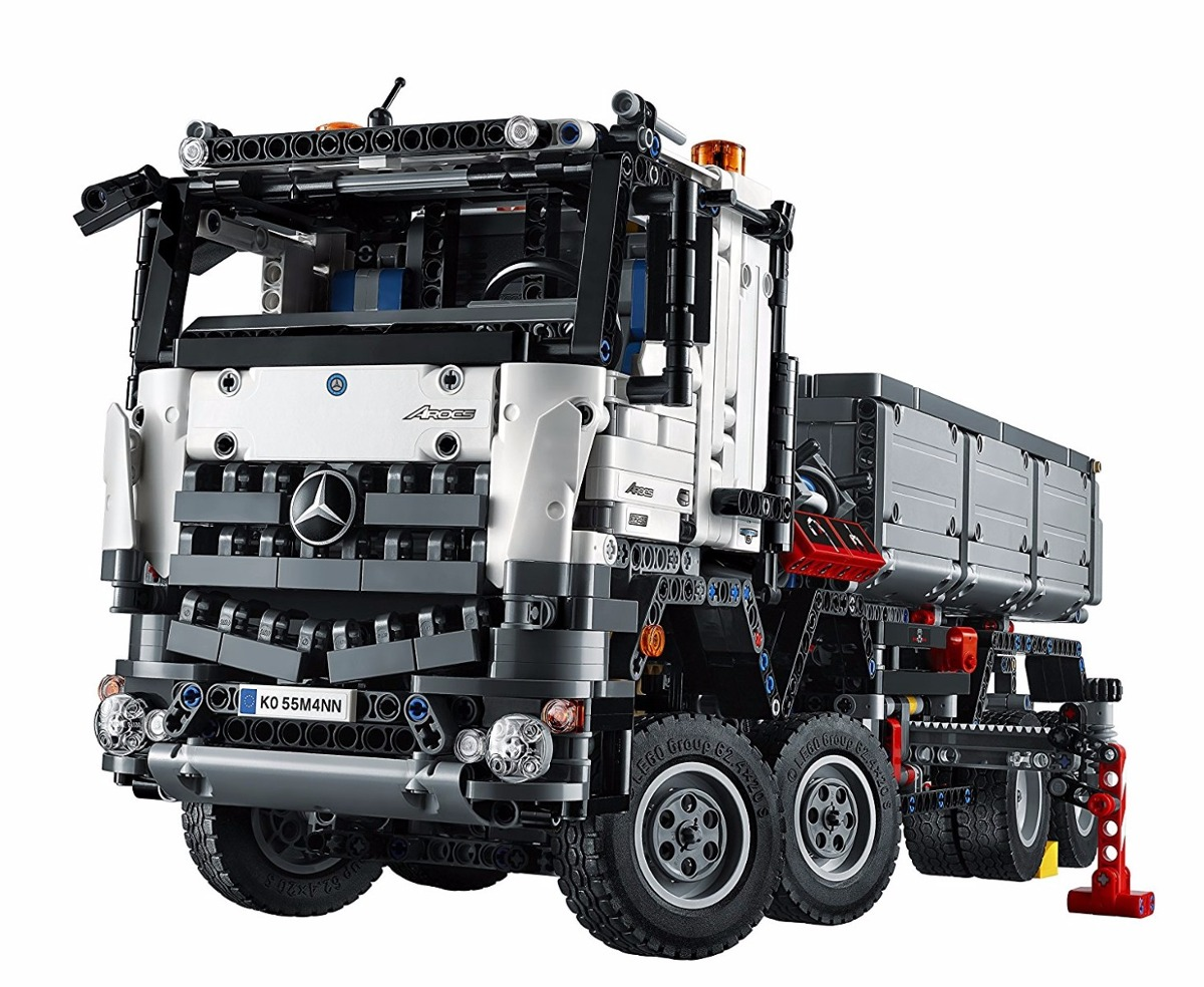 lego technic 42043 camion mercedes benz arocs 3245 kit en mercado libre. Black Bedroom Furniture Sets. Home Design Ideas