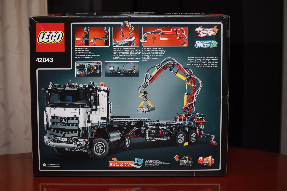 lego technic 42043 camion mercedes benz arocs nuevo s en mercado libre. Black Bedroom Furniture Sets. Home Design Ideas