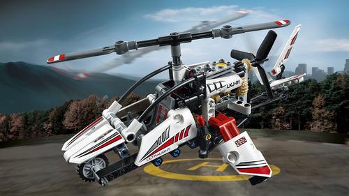 lego technic 42057 helicóptero ultraligero  199 piezas
