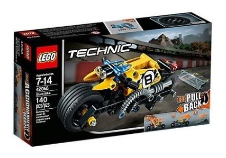 lego® technic - moto acrobática (42058)