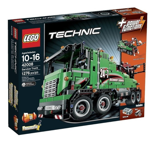 lego technic service truck modelo 42008