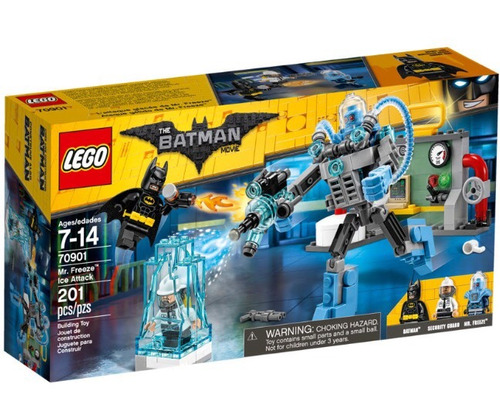 lego the batman movie 70901 mr freeze attack nuevo y origina