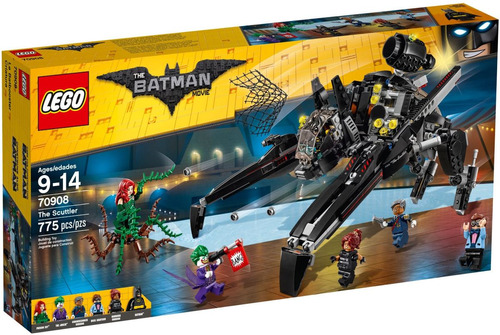 lego the batman movie 70908 the scuttler nuevo y original