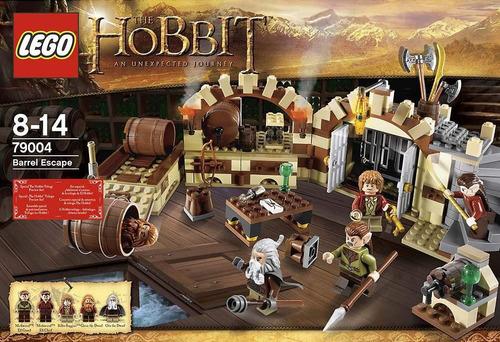 lego the hobbit barrel escape modelo 79004