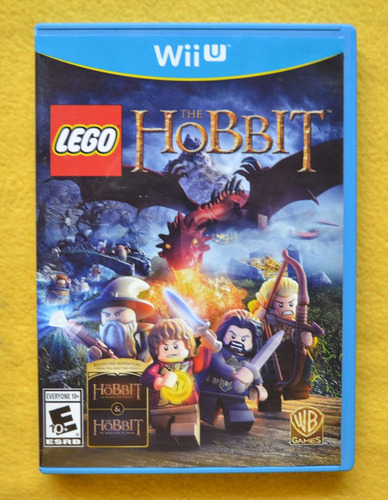 lego the hobbit nintendo wii u play magic