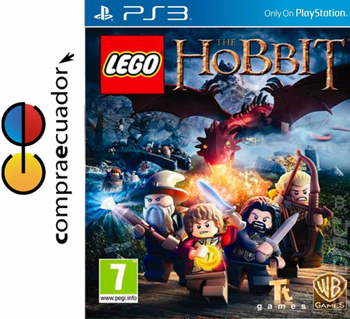 lego the hobbit ps3 disco fisico sellado original nuevo ps3