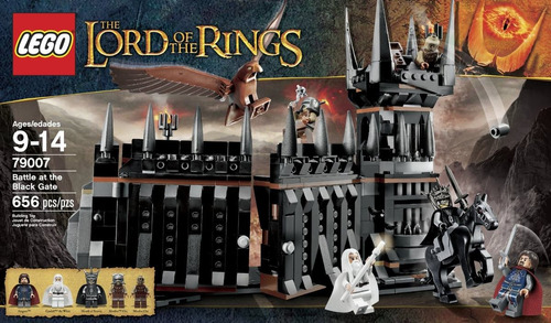 lego the lord of the rings battle at the black modelo 79007