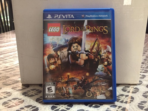 lego the lord of the rings psvita muy poco uso