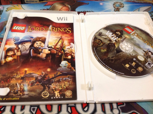 lego the lord of the rings.    wii
