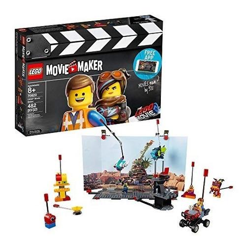 lego the movie 2 movie maker 70820 building kit , new 2019 (
