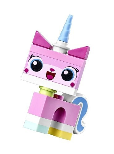lego the movie minifigure: unikitty compreonline!