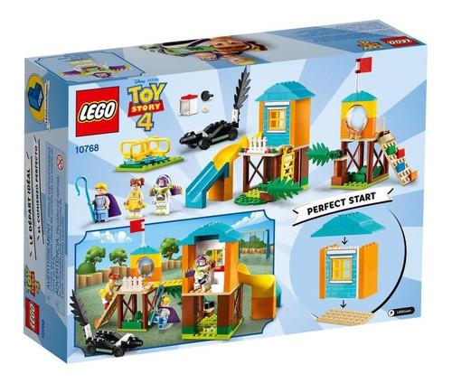 lego toy story 4 aventura en el parque de juegos 10768 stock