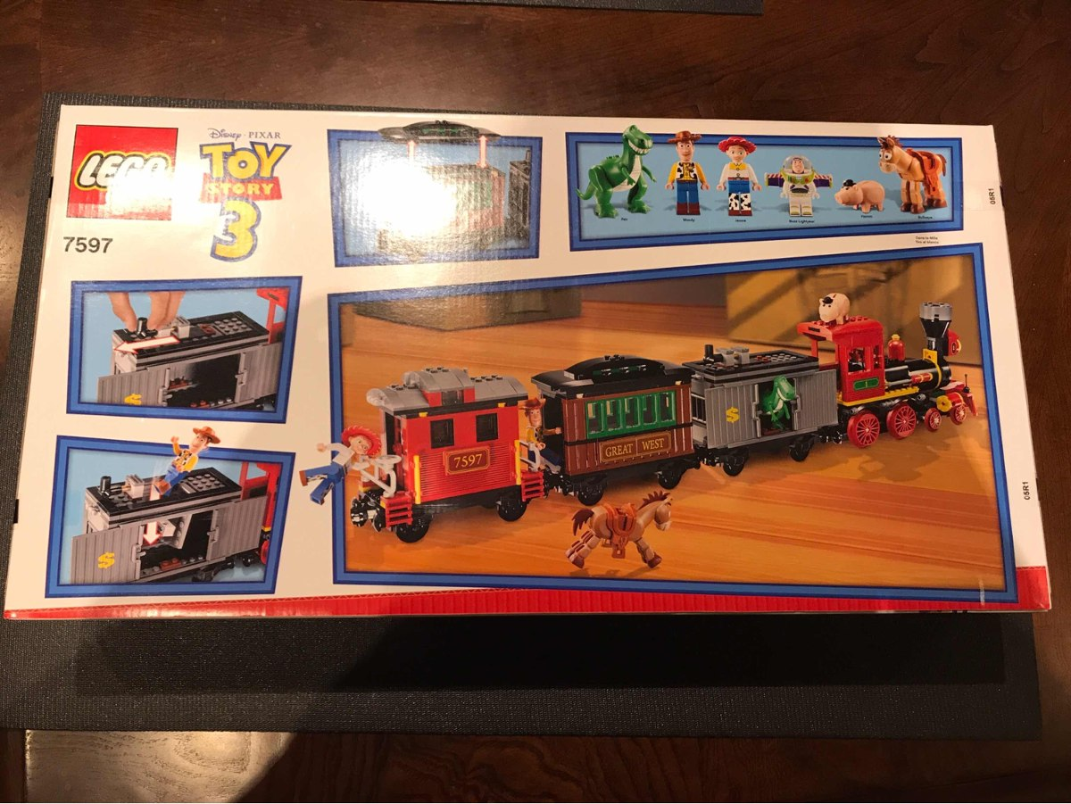 c8706f213b120 lego toy story 7597 tren del oeste. Cargando zoom.